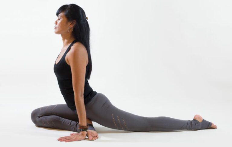 Yin Yoga position The Yoga Rescue
